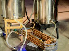 Copper Counterflow Chiller Build | Bertus Brewery