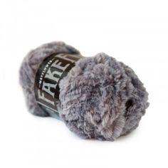 Mayflower Fake Fur Garn einfarbig 04 Grau fra Mayflower Crochet Hook Sizes, Knit Or Crochet, Crochet Hooks, Drops Baby, Fake Fur, May Flowers, Neck Warmer, Knitting Needles, Crochet Projects
