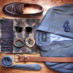 Mens closet, prepared ready - instagram @Phil Fishbein Cohen
