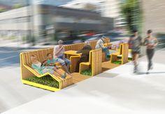 Seatscape Parklet Design on Behance