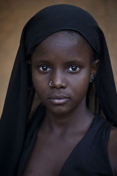 Young girl from Mali, Afric