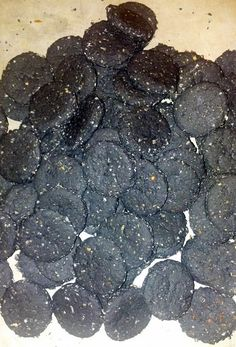 Bad breath biscuits for dogs who eat poop! Just add one simple ingredient to your dog biscuit recipe...
