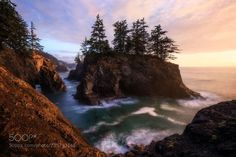 Oregon Coast Sunset (Daniel F. / Rosenheim / Germany) #Canon EOS 5D Mark IV #landscape #photo #nature