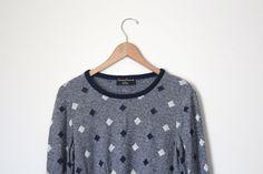 Preppy Vintage Sweater via Infinity Ampersand