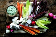 Pickled Crudité with Green Goddess Dressing recipe on Food52