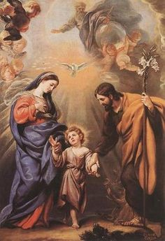 Painting by Claudio Coello The Feast of the Holy Family celebrates the family unit and the Holy Family: Jesus, Mary, and Joseph.