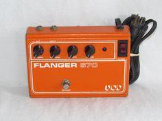 Vintage 1980 DOD Guitar Flanger 670