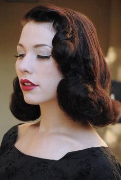 vintage hairstyles for medium hair