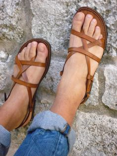 SANDALS - Shopping link: www. Handmade Leather Shoes, Leather Sandals, Leather Boots, Shoes Sandals, Flats, Cowboy Boots Women, Cowgirl Boots, Western Boots, Riding Boots