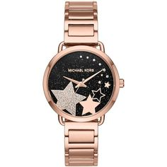 Michael Kors Wrist Watch (18.125 RUB) ❤ liked on Polyvore featuring jewelry, watches, copper, logo watches, stainless steel jewellery, stainless steel jewelry, stainless steel watches and michael kors jewelry