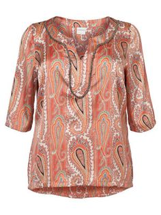 Beautiful print! #junarose #shirt #print #fashion #plussize