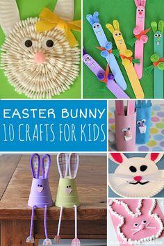 10 Easter Bunny Craf