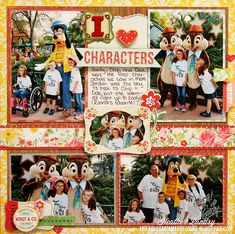 .great layout about character greetings