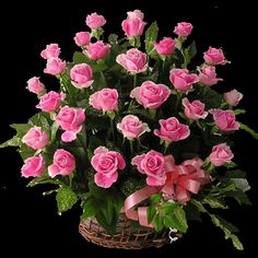 Online Flower delivery in Aurangabad: Send flowers to Aurangabad on any special occasion of your family, relatives and friends.We offer fresh flowers bouquet on all occasion like birthday, anniversary, Valentines Day. Beautiful Pink Roses, Amazing Flowers, Fresh Flowers, Beautiful Flowers, Pink Flowers, Beautiful Flower Arrangements, Floral Arrangements, Rose Basket, Flower Basket