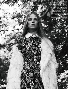 Suvi Koponen by Willy Vanderperre for Vogue UK November 2013
