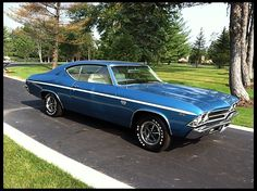 1969 Chevrolet Chevelle SS  396/350 HP, 4-Speed