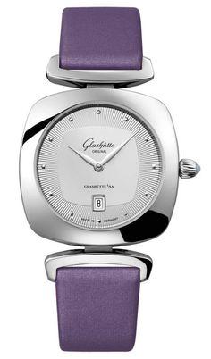 Glashutte Original 1-03-01-15-02-04 Lady Serenade Pavonina - швейцарские женские часы - наручные, стальные, серые