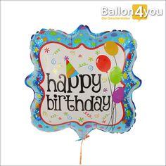 Ballongeschenk bunter Geburtstag  Wie könnten Sie Alles Gute zum Geburtstag besser wünschen als mit diesem Ballongruß? Seine ungewöhnliche Form, die bunten Farben sowie Ballons machen ihn als originelle Geschenkidee perfekt. Ideal für jedes Alter, wobei Kinder den meisten Spaß mit ihm haben werden. Denn wir versenden ihn bereits heliumgefüllt zu Ihnen.