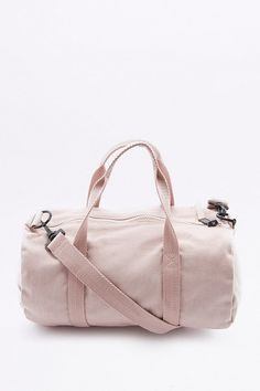 BDG Mini Pink Canvas Gym Bag