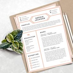 creative resume template instant download printable professional and creative resume cover letter template for - Resume Cover Letter Template