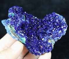 Highly lustrous Electric Blue Azurite from Sepon Mine Laos CM653138 #UnbrandedGeneric