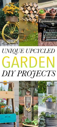 Unique Upcycled Garden DIY Projects - The Cottage Market