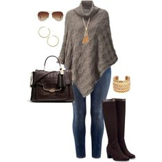 "#plus #size #outfit  ""Wintry Neutrals - Plus Size"" by alexawebb on Polyvore"