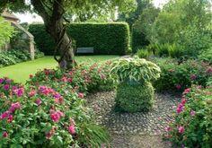 cottage garden, English garden, country garden