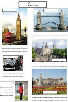 3 fiches de civilisation anglaise