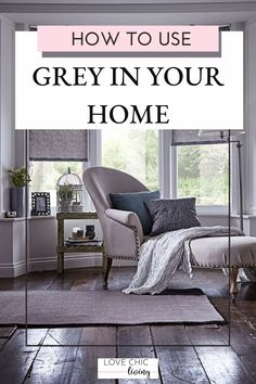 Lots of ideas on how to use grey in your home decor. Whether you would want a grey living room, office or kitchen, there are white and dark colour schemes for every home interior. Design your grey interior with pops of color and take inspiration from this modern shade. #lovechicliving#greyhome #greyinterior Indian Home Decor, Luxury Home Decor, Fall Home Decor, Home Decor Trends, Home Decor Bedroom, Cheap Home Decor, Bedroom Ideas, Best Living Room Design, Living Room Grey