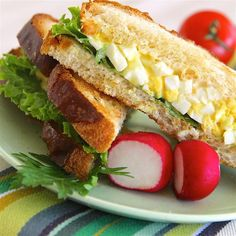 """Jen's Heavenly Egg Salad I """"This is wonderful, easy egg salad. Sometimes I replace the green onions with fresh chives. It's delicious both ways. We'll be having it in mini cream-puffs for an upcoming tea!"""""""