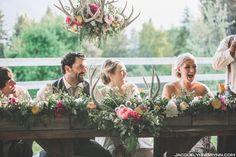Antler Decor Ideas , Wedding Reception Photos by Fleur de Lis Floral & Event Design - Image 1 of 14 - WeddingWire