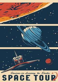 Metal Poster Outer Space Series 15