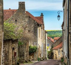 Today is International Chocolate Day! Makes me think of the movie Chocolat which was filmed in Flavigny-sur-Ozerain, Burgundy, a really pretty town that looks just as it does in the film!