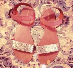 Wake Up Your Wardrobe Target Glitter Sandals