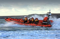 Royal National Lifeboat Institution Atlantic 85 class lifeboat.