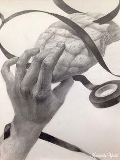 芸デ 構成デッサン Sketches, Fine Art, Sketch Book, Illustration, Drawings, Painting, Art, How To Draw Hands, Feet Drawing