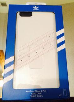adidas phone case Premium Moulded Basics Hard Case iPhone 6 Plus 5.5 White new #adidas #Case