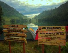 Danau Ranu Kumbolo, Gunung Semeru, Jawa Timur