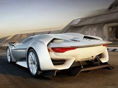 Citroen GT Concept 2008 poster, #poster, #mousepad, #Citroen #printcarposter