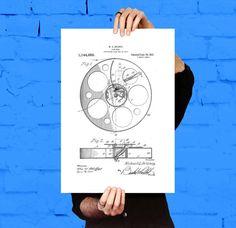 Film reel 1915 blueprint film reels paper artwork and giclee print film reel print film reel poster film reel patent film reel wall art film reel wall decor film reel art film reel blueprint movie art by malvernweather Image collections