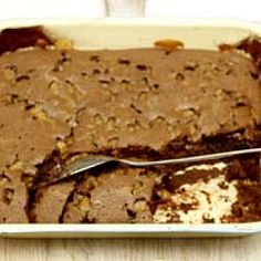Jamie Oliver's mega chocolate fudge cake