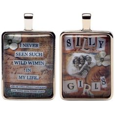 Silly Girls Collagette Charm - Eye Candy For The Soul by Sally Jean $11.99