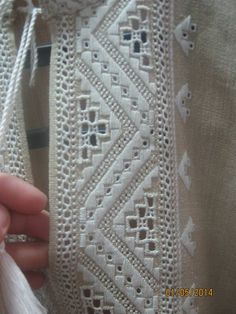 Bullion Embroidery, Hardanger Embroidery, Folk Embroidery, Learn Embroidery, Hand Embroidery Stitches, White Embroidery, Embroidery Designs, Drawn Thread, Creative Embroidery