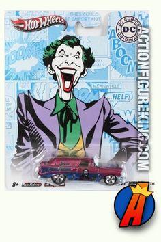 Joker 1956 Chevy Nomad die-cast vehicle from Hot Wheels circa 2011.