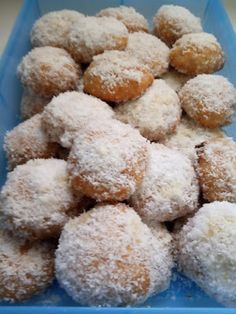Cake Mix Cookie Recipes, Cake Mix Cookies, Creme Brulee, Greek Recipes, Food And Drink, Favorite Recipes, Sweets, Desserts, Biscuits