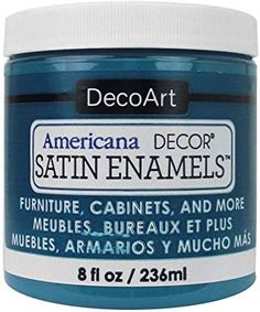 decoart satin enamel - In Stock Only Diy Kitchen Cabinets, Painting Kitchen Cabinets, Bathroom Cabinets, Kitchen Ideas, Deco Paint, Air Brush Painting, Painting Tips, Painting Techniques, Thing 1