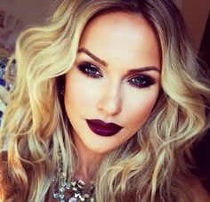 Make Up: Dark Eyes and Dark Lips