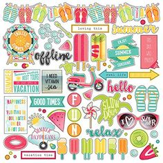 Photo Play Paper SD2233 Summer Daydreams Stickers 12X12Element >>> Want additional info? Click on the image.