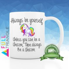 •••UNICORN MUG•••  By Full Triangle  This funny Coffee mug is perfect for…